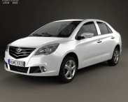 3D model of Lifan 530 2013