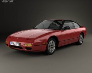 3D model of Nissan 240SX 1989