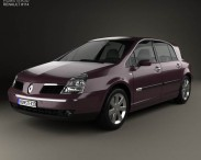 3D model of Renault Vel Satis 2005
