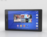 3D model of Sony Xperia Z3 Tablet Compact Black