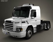 3D model of Scania T113H Tractor Truck 1991