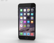 3D model of Apple iPhone 6 Plus Space Gray