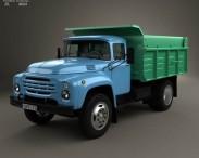 3D model of ZIL 130 Dump Truck 1964