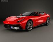 3D model of Ferrari F12 TRS 2014
