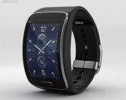 3D model of Samsung Gear S Black