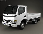 3D model of Toyota ToyoAce Flatbed 2006