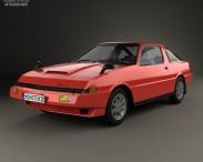 3D model of Mitsubishi Starion Turbo GSR III 1982