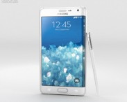 3D model of Samsung Galaxy Note Edge Frost White