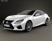3D model of Lexus RC F 2014