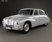3D model of Tatra T87 1936