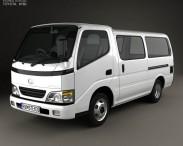3D model of Toyota ToyoAce Van 2006