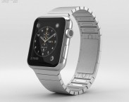 3D model of Apple Watch 42mm Stainless Steel Case Link Bracelet