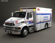 3D model of Sterling Acterra Ambulance Truck 2002