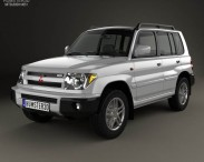 3D model of Mitsubishi Pajero Pinin (iO) 1998