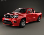 3D model of Toyota Tacoma X-Runner 2012