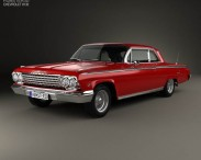 3D model of Chevrolet Impala SS 409 1962