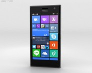 3D model of Nokia Lumia 730 Black