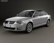 3D model of Volkswagen Passat Lingyu 2009
