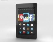 3D model of Amazon Fire HD 6 Black