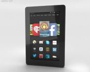 3D model of Amazon Fire HD 7 Black