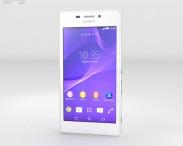 3D model of Sony Xperia M2 Aqua White