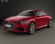3D model of Audi TT (8S) S coupe 2015