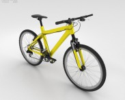 3D model of Bicycle Yellow