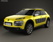 3D model of Citroen C4 Cactus 2015