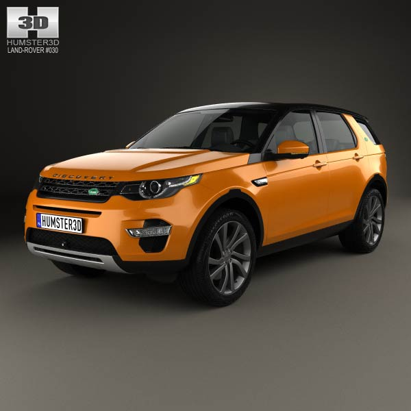 Land Rover Discovery Sport HSE Luxury 2015 3D model ...