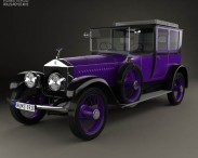 3D model of Rolls-Royce Silver Ghost Nicholas II 1914