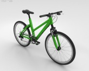 3D model of Bicycle Green