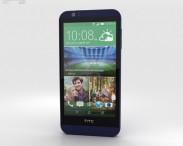 3D model of HTC Desire 510 Deep Navy Blue