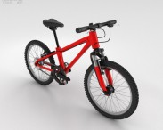 3D model of Bicycle Red