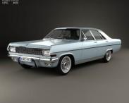 3D model of Opel Diplomat (A) 1964