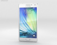 3D model of Samsung Galaxy Alpha A3 Pearl White