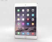 3D model of Apple iPad Mini 3 Gold