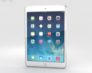 3D model of Apple iPad Mini 2 Cellular Silver