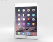 3D model of Apple iPad Mini 3 Cellular Silver