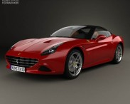 3D model of Ferrari California T 2014