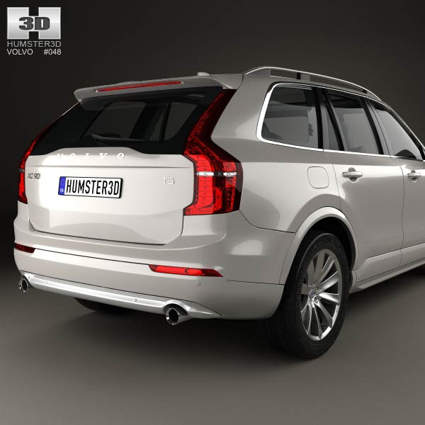 volvo xc90 t5 2015 3d model humster3d. Black Bedroom Furniture Sets. Home Design Ideas