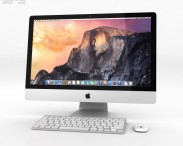 3D model of Apple iMac 27-inch 2014