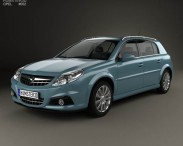 3D model of Opel Signum 2006