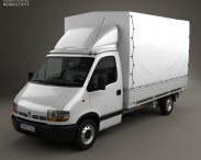 3D model of Renault Master Pickup 1997