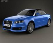 3D model of Audi RS 4 convertible 2006