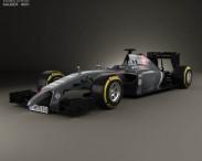 3D model of Sauber C33 2014