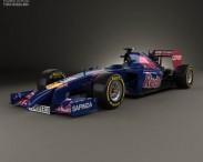 3D model of Toro Rosso STR9 2014
