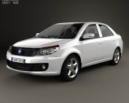 3D model of Geely GC6 2014
