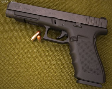 3D model of Glock 41 Gen4