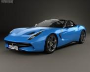 3D model of Ferrari F60 America 2015