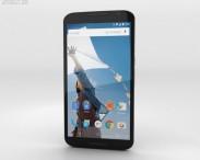 3D model of Motorola Nexus 6 Midnight Blue